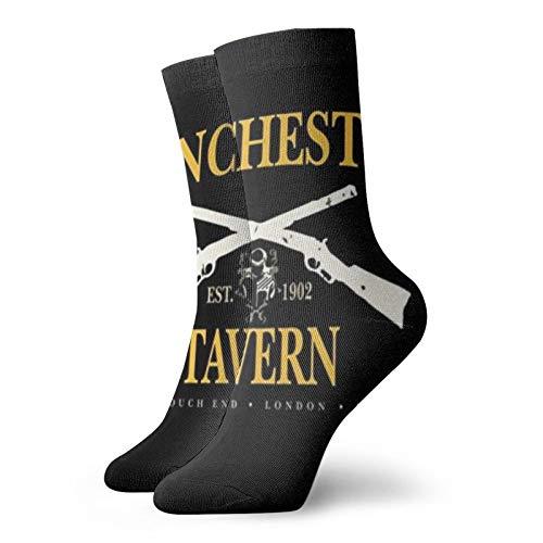Winchester Tavern Crouch End Shaun Of The Dead Classic Freizeit Sport Kurze Socken 30 cm geeignet für Männer und Frauen