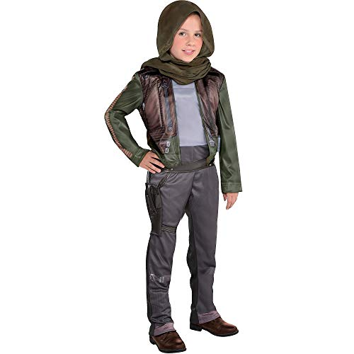 Costumes USA Rogue One: A Star Wars Story Jyn Erso Costume for Girls, Size Large, Includes a Jumpsuit and a Headwrap