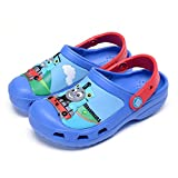ROKIDS Kids' Cartoon Clogs Boys Girls EVA Sports Water Shoes Beach Shoes 12-13 Little Kid, Thomas