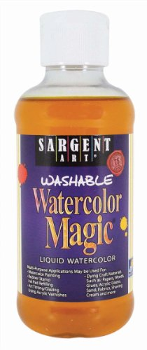 Sargent Art 22-6002 8-Ounce Watercolor Magic, Yellow