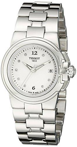 Tissot Women's 'T Sport' White Diamond Dial Stainless Steel Quartz Watch T080.210.11.016.00