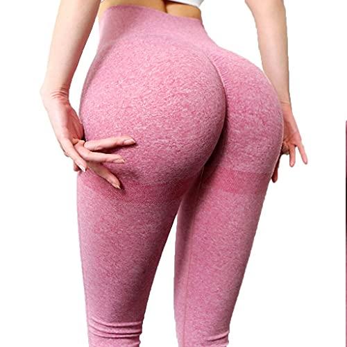 YUDIZWS Yoga Leggings Push Up Mallas Pantalones Deportivos Mujer De Alta Cintura Elásticos Y Transpirables Malla Celular Pantalón (Color : J, Size : Small)