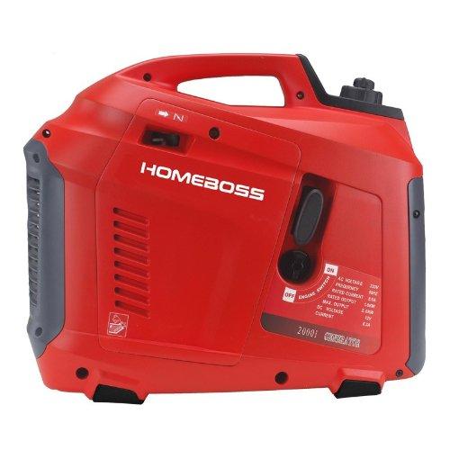 HomeBoss 2000i - Grupo electrógeno, silencioso, inversor, 2000W