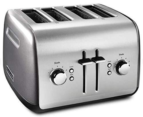 KitchenAid KMT4115QG Toaster with Manual High-Lift Lever, Liquid Graphite (CERTIFIED REFURBISHED) (RENEWED)