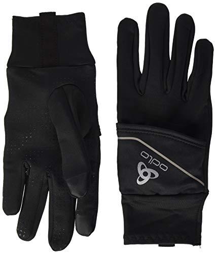 Odlo Gloves Intensity Cover Safety Light-Black, Accessoires Mixte Adulte, Adulte Mixte, 761050-15000, Noir, XXS