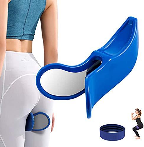 Hip Training Device für Buttocks Traine Buttocks Bladder Controller Pelvic Floor Übungen Super Inner Thigh Training Bodybuilding Fitness Bottom Muscle Toners (Pink), blau
