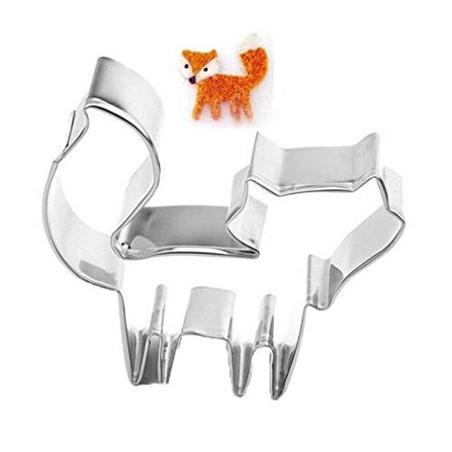 Romote EIN klassischer Ausstechform Netter Kuchen-Form Schmelzen der EIS-Form Fox DIY Bakeware