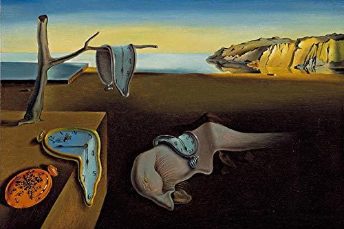 Piezas Puzzles Puzzles La Persistencia De La Memoria Rompecabezas De Madera 1000 Piezas Surrealismo Pintura Al Óleo Rompecabezas Para Adultos Niños Niños Juguetes