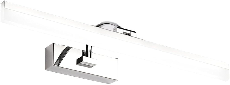 Spiegel - scheinwerfer Spiegel Scheinwerfer Badezimmer LED Retro Bad Lampe wasserdicht und Anti-Fog-Energiespar Spiegelschrank Licht (weies Licht, warmes Licht) licht im bad