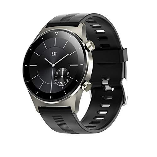 YYZ El Nuevo Reloj E13 Smart Watch admite Mensajes de inserción de Llamadas telefónicas, conexión GPS Bluetooth 5.0, Impermeable, Adecuado,B