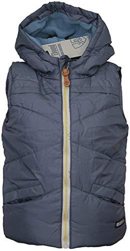 E-Bound EBOUND Boys jongens vest jas zonder arm capuchon grijs gevoerd