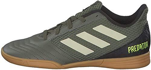 adidas Predator 19.4 IN Sala J, Botas de fútbol para Niños, Verleg/Arena/Amasol, 34 EU