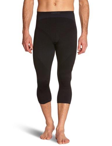 Odlo Herren Traininghose 3/4 Evolution Warm, Black, S, 180932