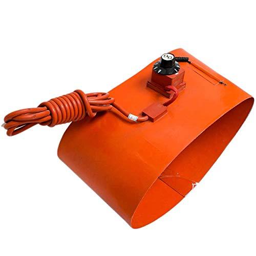 MYLW Calentador De Tambor De Aceite Aislado Calentador de Tambor Silicona Rotación Ajustable Termostato para bidones de 53 Galones/200 litros, 125 x 1740mm/1000W, 220V