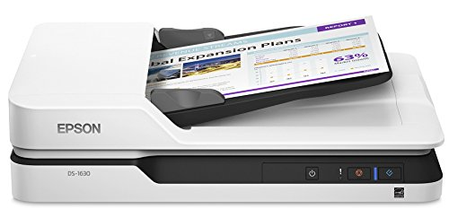Epson DS-1630 Flatbed Color Document Scanner with ADF (Renewed)