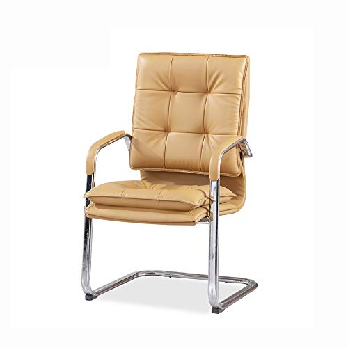 DALIBAI Leather Work Chair, Office Leather Chair for Standing Desks, Work Chair with Arm
