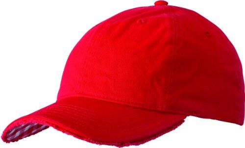 Myrtle Beach Club Vichy-Checked - Gorra Rojo Red/White Talla:Talla única