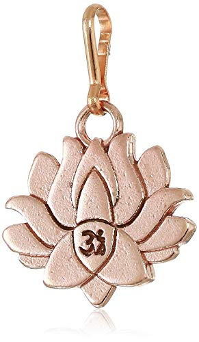Alex and Ani Women's Lotus Peace Petals Charm 14KT Rose Gold Plated