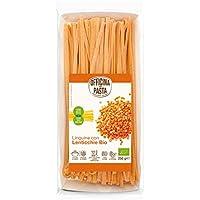 Linguine con lentejas rojas bio - Officina della Pasta - 250g (cja 8 ud) Total: 2200 g