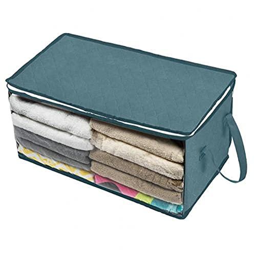 Gran plegado bajo la cama colcha manta ropa de hogar bolsa de almacenamiento caja de equipaje organizador de equipaje bolsa de vestir gabinete contenedor almacenamiento debajo de la cama ( Color : D )
