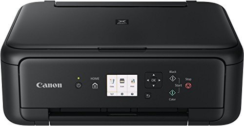 Canon Pixma TS5150 Colour Ink Jet All-in-One (Print, Scan, Copy, 2 Fine Print Heads with) WLAN Print App, Automatic Duplex Printing, Black