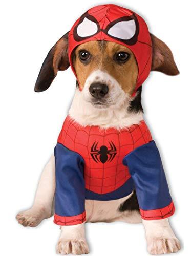 Rubie's-déguisement officiel - Marvel- Déguisement Spiderman Chien- Taille Unique- I-580066S