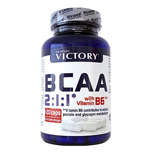 Victory BCAA 2:1:1 120 Caps. Máximo efecto recuperador. Leucina: Isoleucina:Valina...