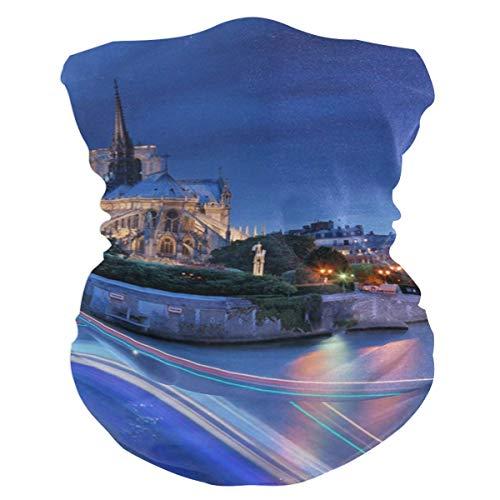 Vince Camu Wasserspeier auf dem Dach Notre Dame De Paris Sturmhaube Damen Bandana Herren Sturmhaube,Halswärmer,Gesichtsbedeckung,Tube Tube Schal