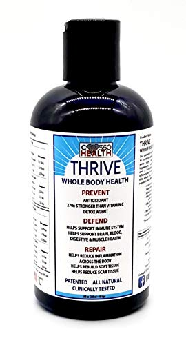 Thrive Whole Body Health (1) 8 oz, Carbon 60, C60, C 60 Saturation Level of at Least 0.08 mg/ml