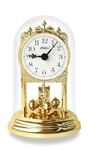 SELVA Haller Quarz-Jahresuhr Aurelie – Klassisches Modell in hochwertiger Verarbeitung – Made in Germany – Mit Dieser edlen Einstiegs-Uhr beginnt so Manche Liebe zur Jahresuhr (Maße: 16 x 10 cm)