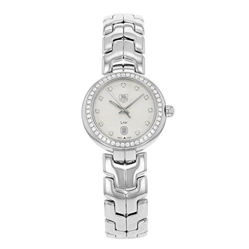 TAG Heuer Women's THWAT1414BA0954 Link Analog Display Swiss Quartz Silver Watch