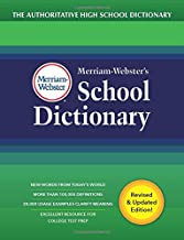 Download Book Merriam-Webster's School Dictionary, New Edition, 2020 Copyright, (The Authoritative High School Dictionary) PDF