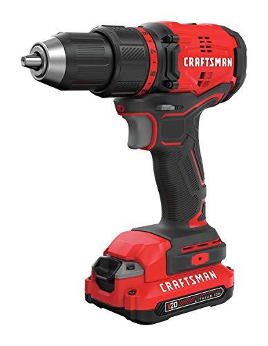 CRAFTSMAN V20 Cordless Drill/Driver Kit, Brushless (CMCD710C1)