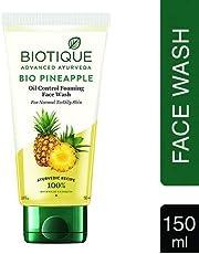 Biotique Bio Pineapple Oil Control Foaming Face Wash, 150ml