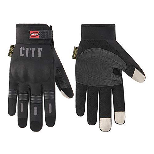 Guantes Antideslizantes Deportivos Men Motorcycle Gloves Summer Motocross Gloves Racing Moto Motorbike Riding Gloves Breathable Full Finger Guantes XL Su-07B Entrega Rápida Y Gratuita