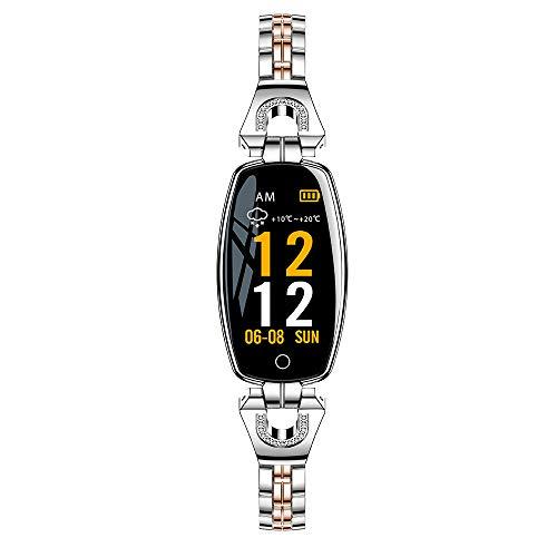 Festnight H8 Bracelet Intelligent Femmes Montre IP67 Étanche Moniteur De Sommeil De La Fréquence Cardiaque Bande de Pression Sanguine Smart Watch pour iOS Android Fitness Bracelet