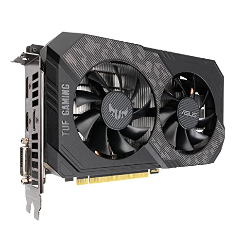 ASUS TUF Gaming Gaming GeForce® GTX 1660 Ti Evo OC Edition NVIDIA GeForce GTX 1660 Ti 6 Go GDDR6