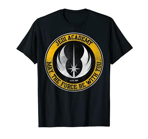 Star Wars Jedi Academy Gold Emblem Graphic T-Shirt