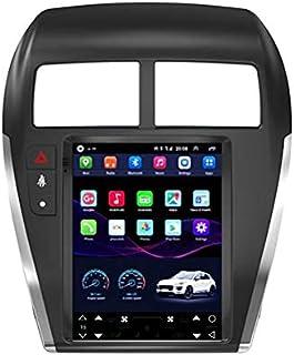 HP CAMP Autoradio Android 9.0 9.7 Pouces pour Mitsubishi ASX 2010-2017, Lecteur Vidéo Navigation GPS De Voiture De Soutien...