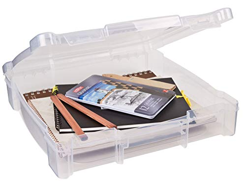 ArtBin Kunststoff Essentials Box, Transparent