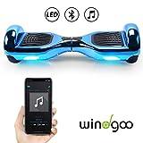 Windgoo Hoverboard Scooter Elettrico Autobilanciato, con Bluetooth e Luci LED,...