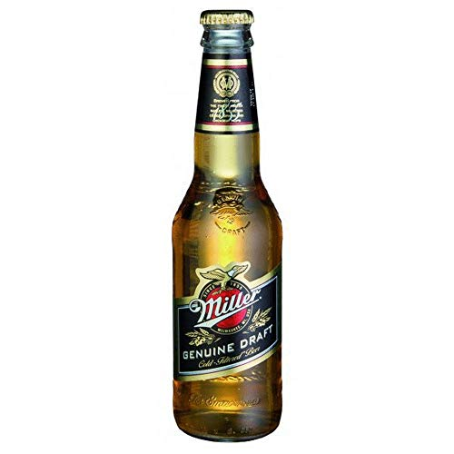 CERVEZA MILLER GENUINE DRAFT PACK 24 BOTELLAS 33 CL