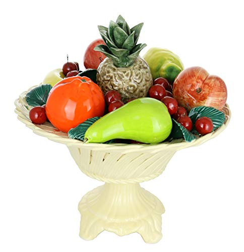 Capodimonte Authentic Italian Fruit Basket Centerpiece