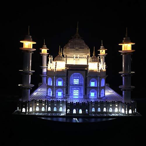 NURICH Licht Set für Lego 10256 Taj Mahal, USB Stecker, passen zum Lego 10256