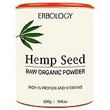 Roh Bio Hanf-Proteinpulver 300g - Reich an Vitamin D und Mineralien -