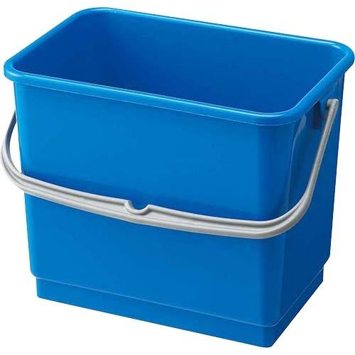 山崎産業 清掃用品 小物入れバケツ 4L ブルー