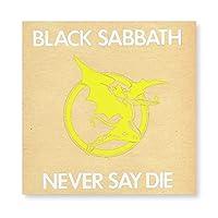 ブラックサバス Black Sabbath 壁掛け 部屋飾り 掛け絵 キャンバス素材 背景絵画 壁アート 装飾 軽くて取り付けやすい