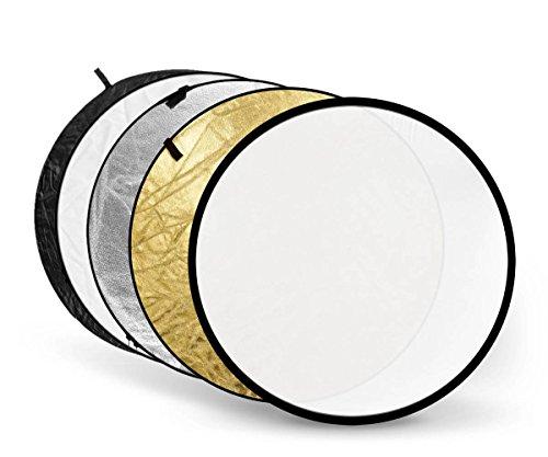 Godox 80cm 32インチ 5イン1 折りたたみ可能 光反射板 ディフューザー ディスク バッグ付き - 半透明、シルバー、ゴールド、ホワイト、ブラック