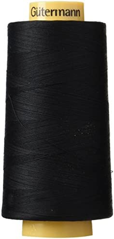 Gutermann Natural Cotton Thread Solids 3281 Yard Black product image