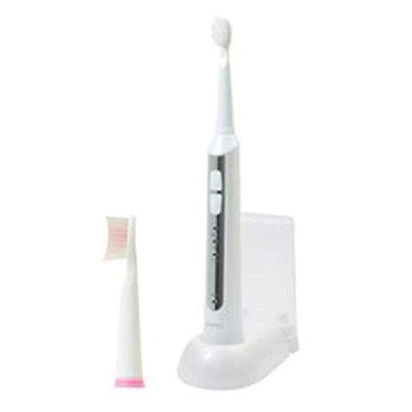 持っている思われるサーバ-まとめ-DRETEC?音波式電動歯ブラシ?高速振動と選べる振動モードでしっかり磨ける?ホワイト?TB-500WT-×2セット-